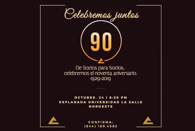 CELEBREMOS JUNTOS 90 DE SOCIOS PARA SOCIOS CANACO
